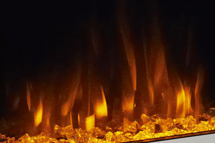 image of flame effect colour Orange