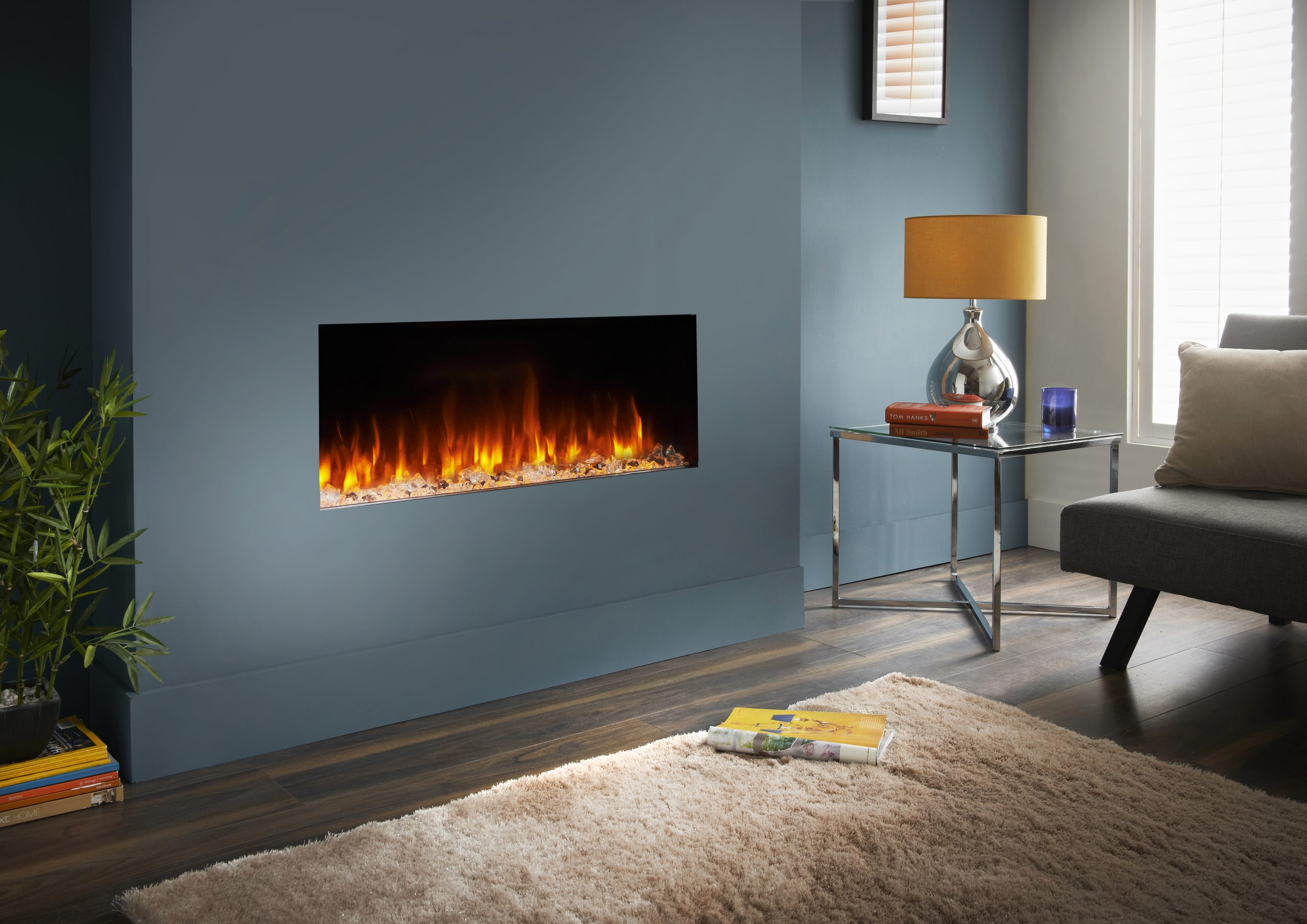 Bespoke 890 Hd Modern Electric Fire Great Customer Service