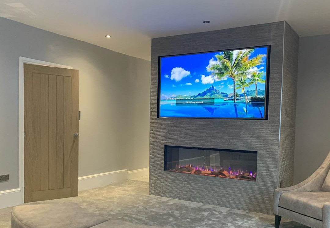 How To Build A False Wall For An Electric Fireplace Fireplace Factory