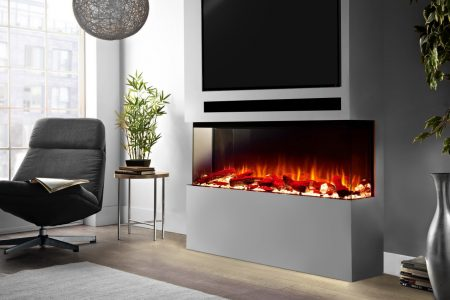 1500-Panoramic-electric fire for media centre